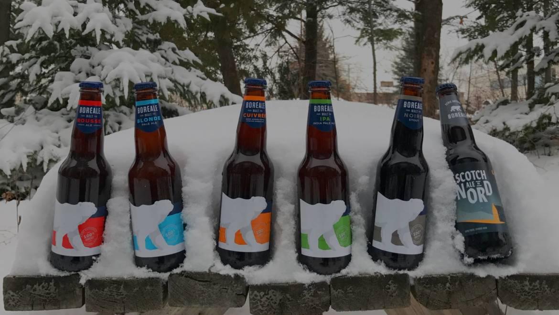 Les Brasseurs du Nord : Bières Boréales