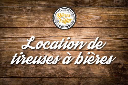 Location de tireuses à bières