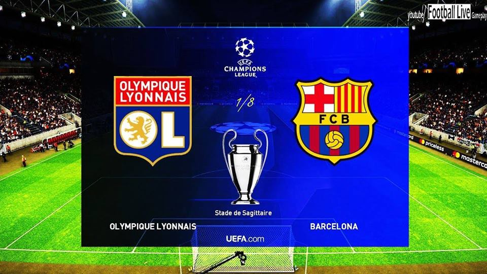Lyon - Barcelone 19-février-2019