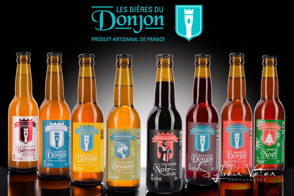 les Bières du Donjon chez Bières à l'Affût