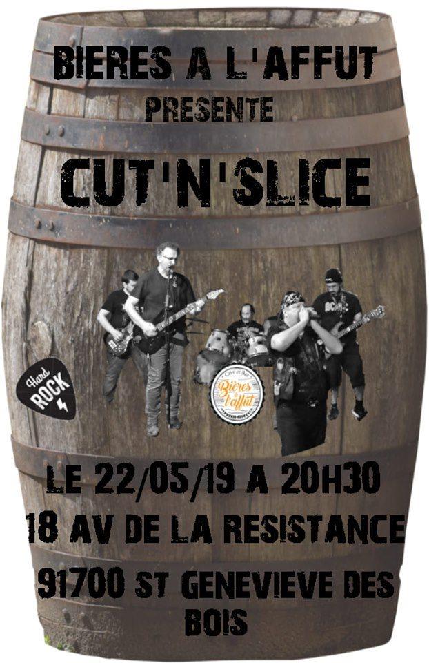 Concert Cut'n'slice Bières à l'Affût