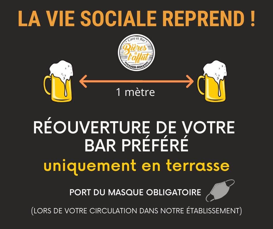 Bières à l'Affût - Ré-ouverture du Bar